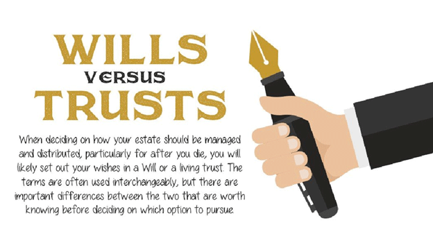 wills versus trusts